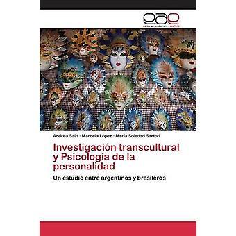 Investigacin transculturele y Psicologa de la personalidad door Andrea zei