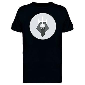 Geometric Bearded King Tee Men's -Image by Shutterstock
