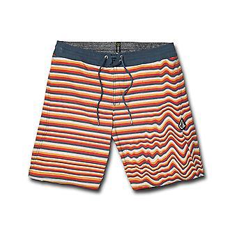فولكوم أورا ستوني 19 متوسطة طول Boardshorts في البرتقال الأصفر