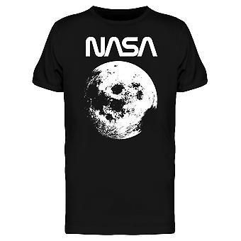 Space NASA Vintage Moon Bild Grafik Herren T-shirt