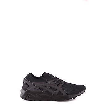 Asics Ezbc168009 Damen's Schwarze Stoff Sneakers