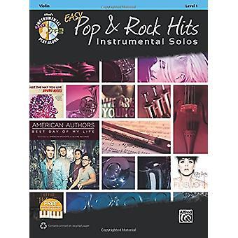Easy Pop & Rock Hits Instrumental Solos for Strings - Violin - Boo