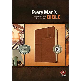 Every Man's Bible NLT - Deluxe Messenger Edition by Stephen Arterburn