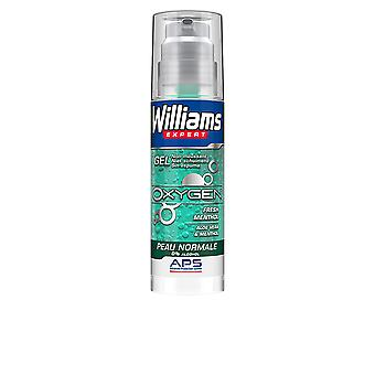 Williams Expert Oxygen 0% Alcohol Gel Afeitar Piel Normal For Men