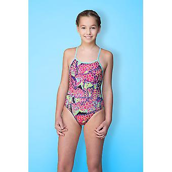 Maru Neon Giraffe Pacer Aero Back Swimwear For Girls