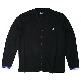 Pique Cardigan M4398-220 Fred Perry masculino