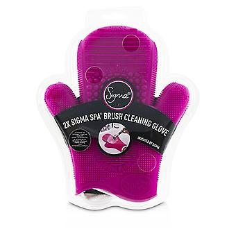 Sigma Beauty 2X Sigma Spa Brush Cleaning Glove - # Pink