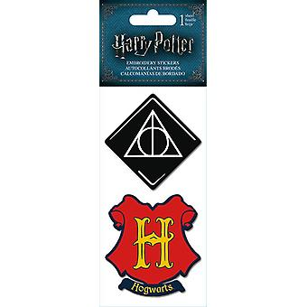 Embroidered Stickers - Harry Potter - Stationery New st3034