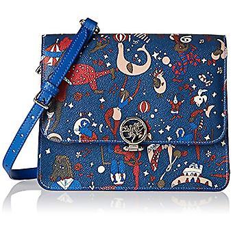 piero drives Small Messenger Women's shoulder bag (Prussia Blue) 23x18x88 cm (W x H x L)