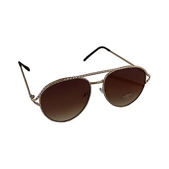 Sunglasses UV 400 Aviator Gold BruinHL202_5