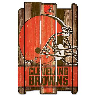 Wincraft PLANK Holzschild Wood Sign - NFL Cleveland Browns