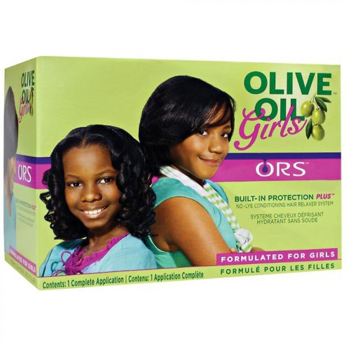 ORS Organic Root Stimulator Olive Oil Girls Relaxer Kit