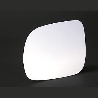 Linker passagier kant stick-on spiegelglas voor Volkswagen LUPO 1998-2005