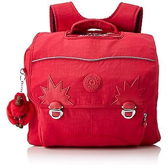 Kipling Iniko - Unisex Children's Backpacks - Pink (True Pink) - 15x24x45 cm (W x H x L)