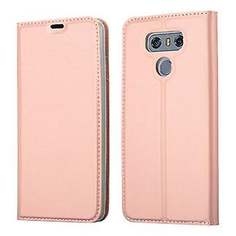 حالة كادورابو لغطاء حالة LG G6 - حالة الهاتف المحمول مع المشبك المغناطيسي، وظيفة الوقوف ومقصورة البطاقة - حالة غطاء واقية حالة حقيبة كتاب للطي نمط للطي