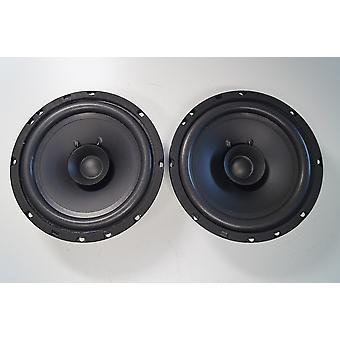 1 Paar PG Audio EVO I 16.2, 16 cm Dual Cone Lautsprecher Audi,BMW,Mercedes,Seat,VW
