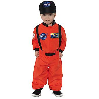 Astonaut Orange Costume for toddlers