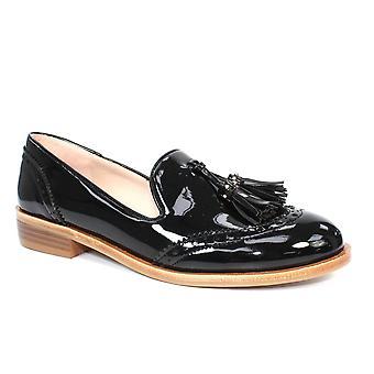 Lunar Sanchez patentti Brogued loafer