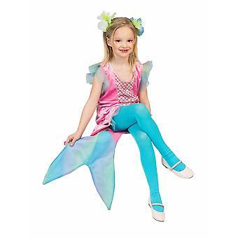 Puku Mermaid Undine lapsi lapset puku tyttö meri prinsessa Ocean Carnival Carnival Carnival