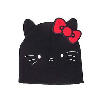 Hello Kitty pipo hattu Kitty muotoinen korvat uusi virallinen musta