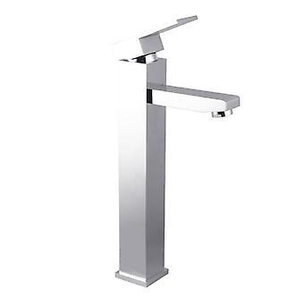 Ottimo Square Chrome Tall Basin Mixer