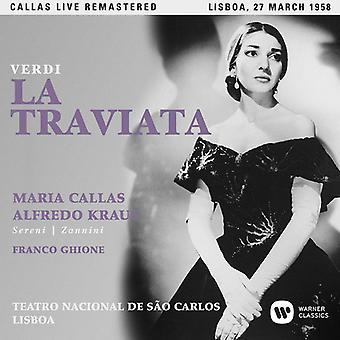 Callas*Maria - Verdi: La Traviata (Lisboa 27/03/1958) [CD] USA import