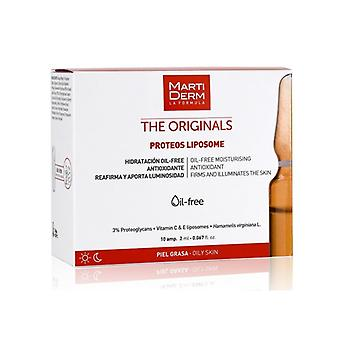 Martiderm The Originals Liposome Proteos Mixed Skin Fat 10 Blisters