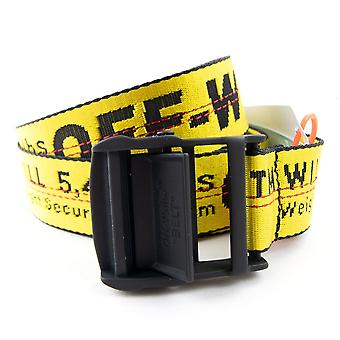 Off-white Off White Carryover Industrial Belt Yellow 6000