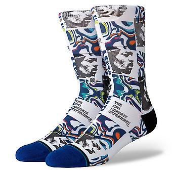 Stance Foundation Mens Socks ~ Hendrix Dissolved