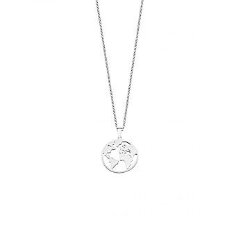 Lotus Silver LP1898-1/1 necklace and pendant - world it girl Silver Woman
