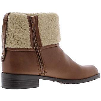 Tyyli & Co. naisten Bettey fold over faux turkis saapikkaat ruskea 5 keskikokoinen (B, M)