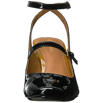 Calvin Klein Womens Cleary Patent Cap Toe Ankle Strap Classic Pumps