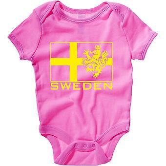 Body neonato rosa raspberry dec0523 sweden