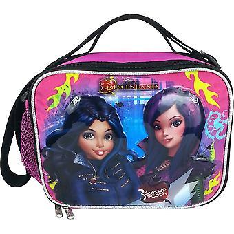 Lunch Bag - Disney - Descendants Anime Black/Pink New 679804