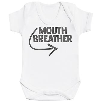 Mouth Breather - Baby Bodysuit