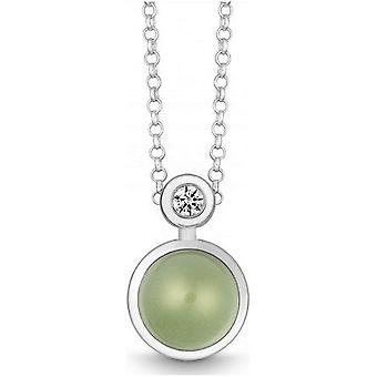 QUINN - Necklace - Silver - Gemstone - Prasiolite - Wess. (H) - 27191935
