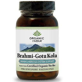 Brahmi-Gotu Kola (90 Vegetariánské čepice) - Organic Kácení