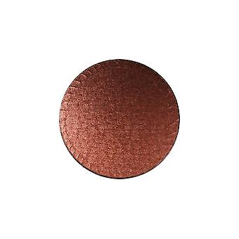 """Culpitt 10 """"(254mm) taart bord ronde bruine verpakking van 5"""