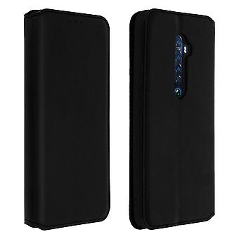 Classic Edition stand case with card slot for Oppo Reno 2 - Black