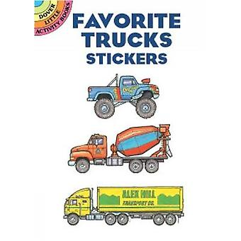 Favourite Trucks Stickers by Bruce LaFontaine