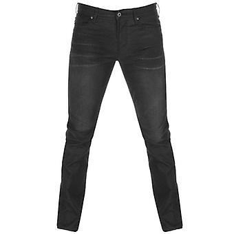 Emporio Armani J06 Slim Fit Black Washed Denim Jeans 8N1J06 1D0IZ