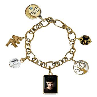 Twilight New Moon Jewellery Chunky Charm Bracelet (Jacob)