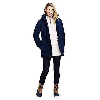 Lands' End Women's Squall Winter Parka Large Deep Sea Navy, Blue, Size Large