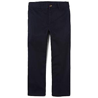 The Children's Place Boys Slim Size Uniform Chino Pants,, New Navy, Size 12 Slim