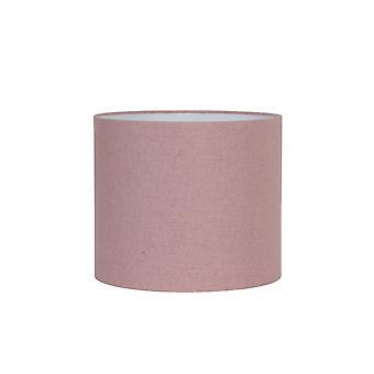 Svetlo & obývacia valec odtieň 35x35x30cm Livigno ružová