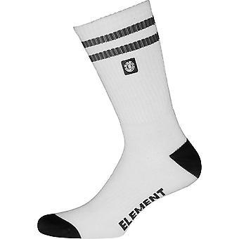 Elementet atletiske sokker ~ Clearsight hvit