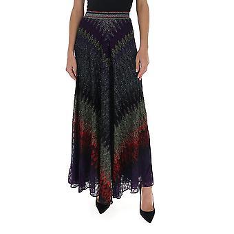 Missoni Mdh00164br007ys90a6 Women's Multicolor Viscose Skirt