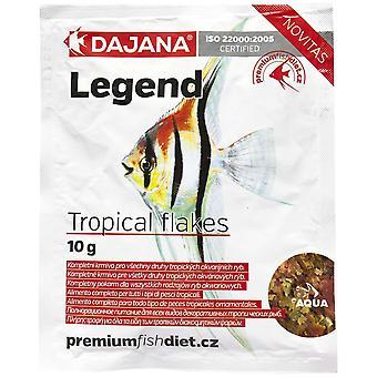 Dajana Legend Tropical Escama Bolsa 10 Gr (Fish , Food , Warm Water)