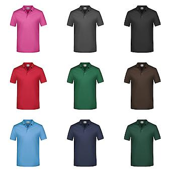 James und Nicholson Mens Basic Polo-Shirt