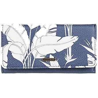 Roxy Hazy Daze Faux läder plånbok i Humör Indigo Flygande Blommor S